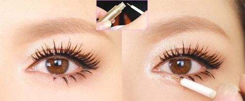 Trang điểm mắt búp bê long lanh - 18