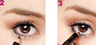2 cách trang điểm cho mắt to tròn - 3