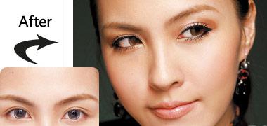 2 cách trang điểm cho mắt to tròn - 4