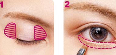 2 cách trang điểm cho mắt to tròn - 5
