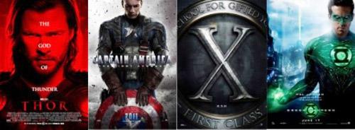 """Phim bom tấn hè 2011: """"Ngập"""" siêu anh hùng - 1"""
