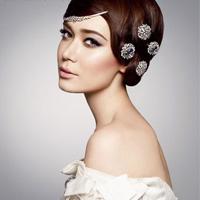 Xu hướng tóc và trang điểm cô dâu 2011