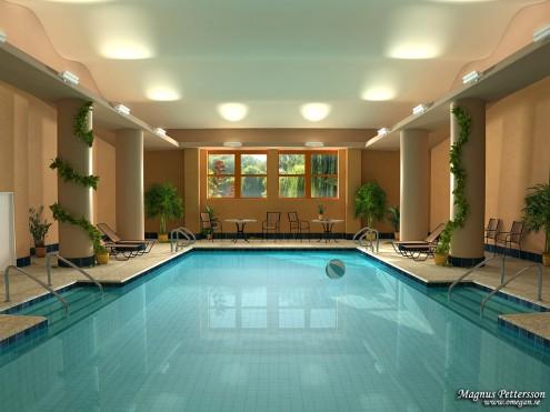 Bể bơi trong nhà tuyệt đẹp