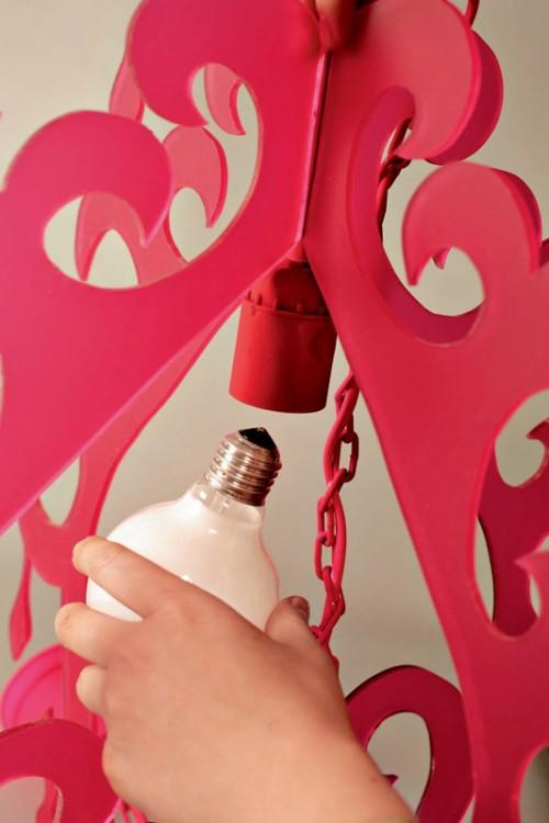 Trang trí nhà bằng đèn treo handmade - 11