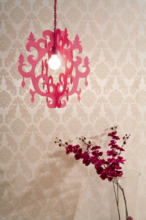 Trang trí nhà bằng đèn treo handmade - 12