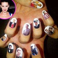 Bộ nail  'Hoàng gia' của Katy Perry