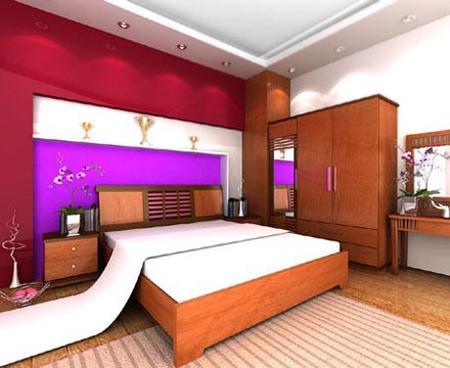 Phòng ngủ đẹp bất ngờ chỉ với... 2 triệu đồng - 1