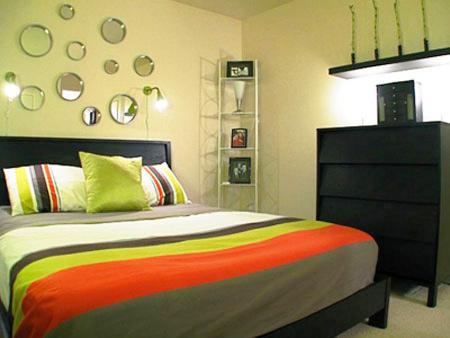 Phòng ngủ đẹp bất ngờ chỉ với... 2 triệu đồng - 4