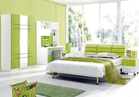 Phòng ngủ đẹp bất ngờ chỉ với... 2 triệu đồng - 5
