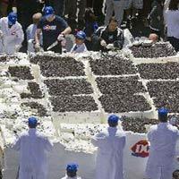 Chiếc bánh kem lớn nhất thế giới
