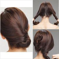 4 kiểu tóc búi Hàn Quốc cực đẹp