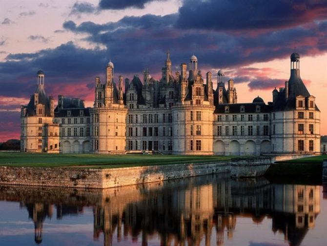 7 lâu đài đẹp như cổ tích của Pháp - 1