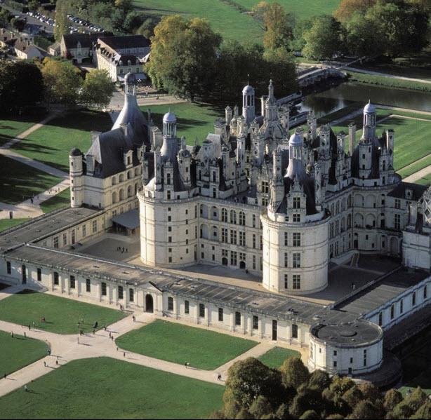 7 lâu đài đẹp như cổ tích của Pháp - 2