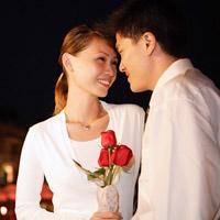 Tán chàng một cách lãng mạn