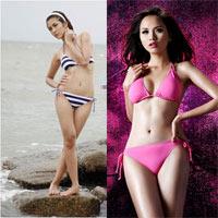 Sao Việt đẹp và xấu cùng bikini