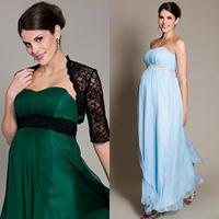 Váy dạ hội sang trọng cho bà bầu