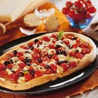Làm bánh pizza bằng chảo