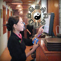 Phong thủy cho quầy thu ngân nhà hàng