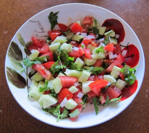 Các món salad rau, quả dễ làm cho trẻ - 2