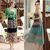 Nữ tính váy maxi mùa hè