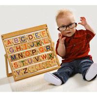 'Độc chiêu' dạy bé 1 -2 tuổi học chữ