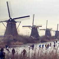 6 thiên đường cối xay gió đẹp nhất hành tinh