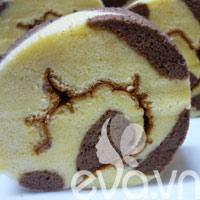 Mẹo trang trí cho bánh gato cuộn thêm xinh