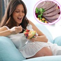 Ăn gan khi mang thai là có hại?