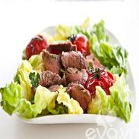 Ăn salad giảm cân cho mùa hè