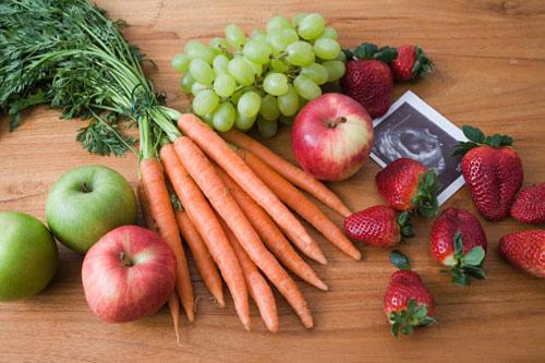 Hướng dẫn bà bầu ăn rau quả đúng cách - 1