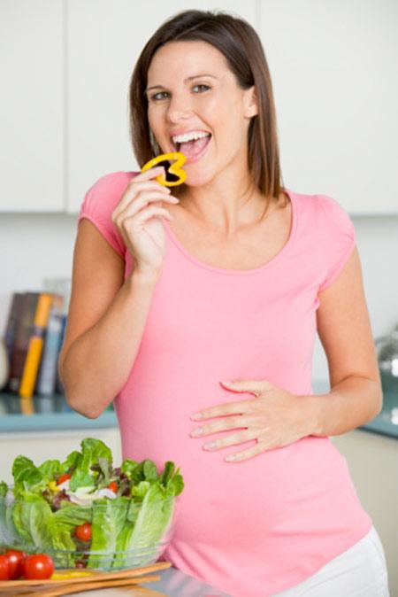 Hướng dẫn bà bầu ăn rau quả đúng cách - 2