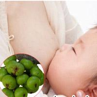 Quả sung lợi sữa sau sinh