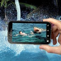 Top 10 điện thoại đặc biệt không sợ nước