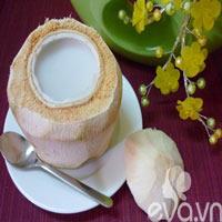Làm thạch dừa trong veo mát lịm