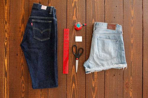 Tự tay may vá 3 kiểu quần jean cực cá tính - 1