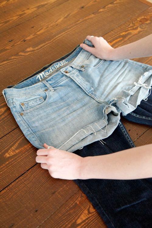 Tự tay may vá 3 kiểu quần jean cực cá tính - 2