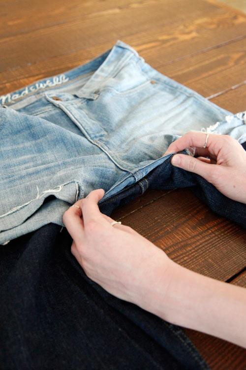 Tự tay may vá 3 kiểu quần jean cực cá tính - 3