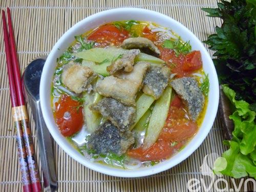 Đổi món bữa trưa với bún cá rô đồng - 7