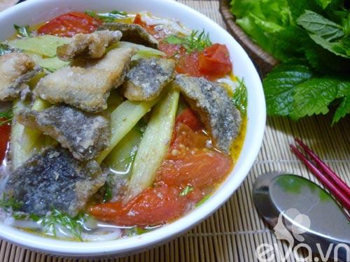 Đổi món bữa trưa với bún cá rô đồng - 6