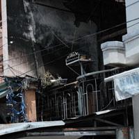 Cháy tiệm vàng, chết cả gia đình 4 người