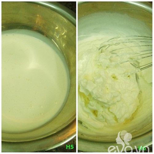 Cách làm kem bạc hà 3