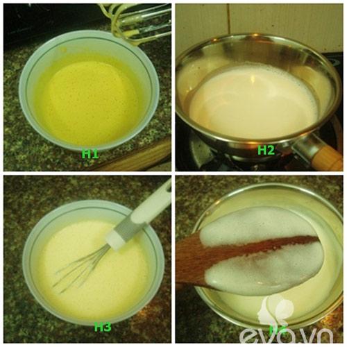 Cách làm kem bạc hà mát lạnh 1