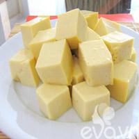Làm đậu phụ trứng thơm ngon, bổ dưỡng