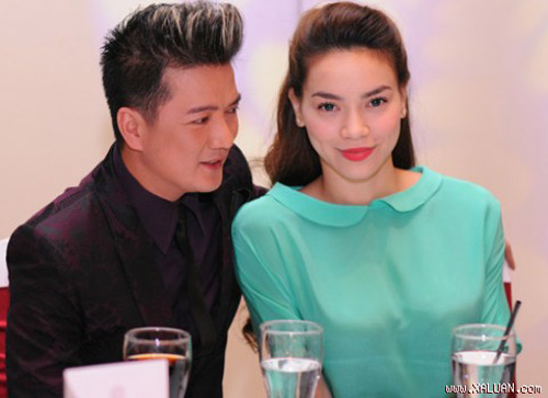 Sao Việt 'mát mắt' với xanh bạc hà - 1