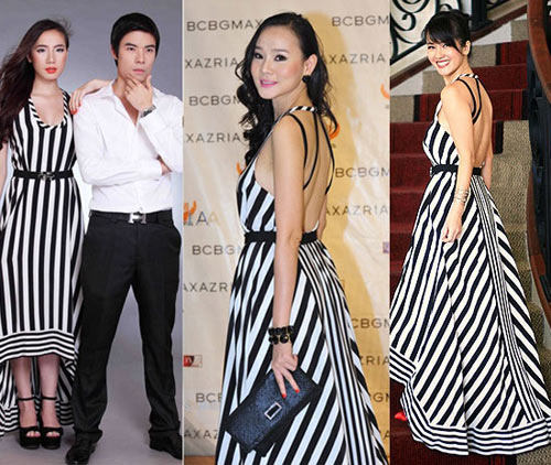 Sao Việt đẹp lộng lẫy với váy đuôi tôm - 1