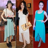Sao Việt đẹp lộng lẫy với váy đuôi tôm