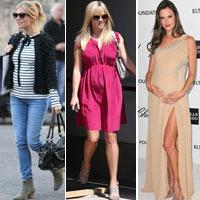 Top bà bầu xinh đẹp Hollywood 2012