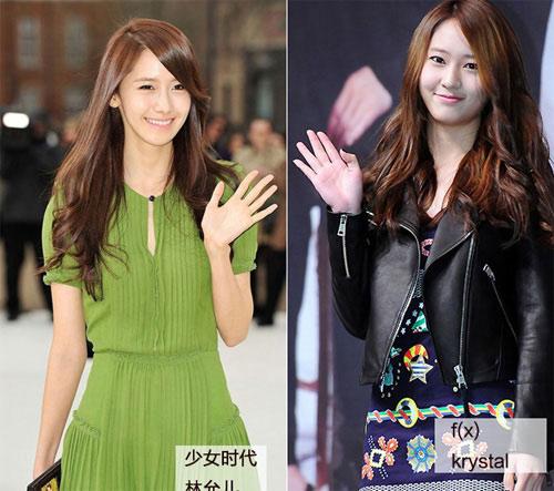 Những kiều nữ Hàn giống nhau lạ lùng - 2