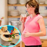 Mới mang thai không nên uống nước dừa