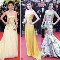 Sao Hoa ngữ khoe sắc vóc ấn tượng tại Cannes